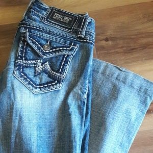 MISS ME IRENE BOOT CUT JEANS